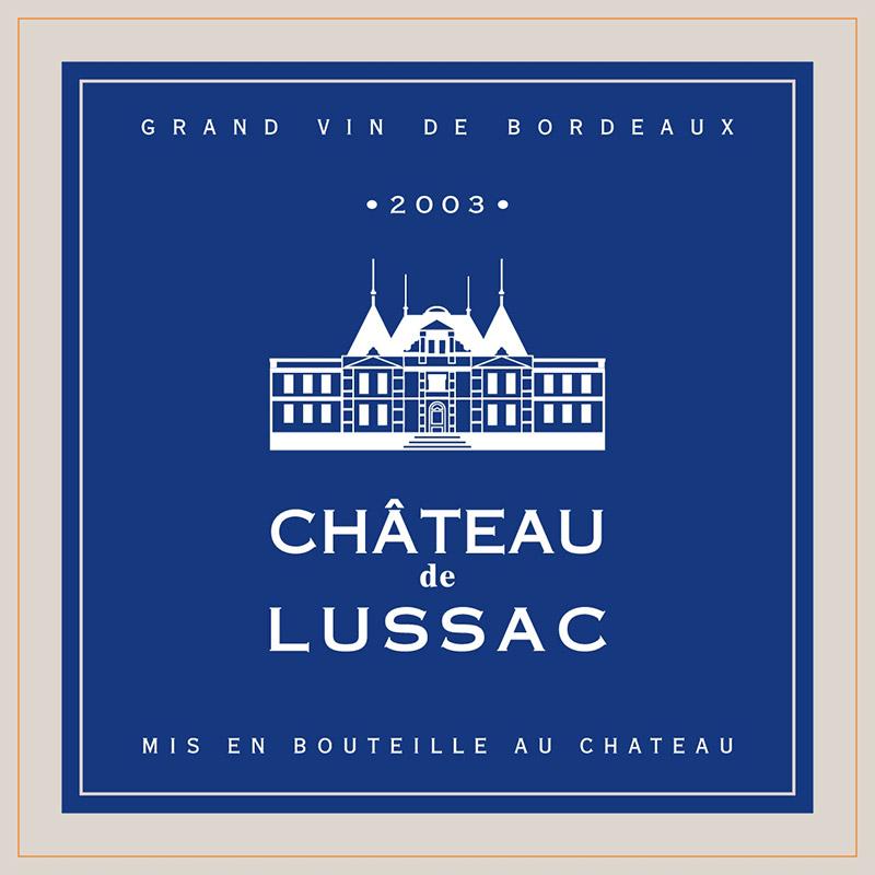 Revue de Presse Château de Lussac 2003