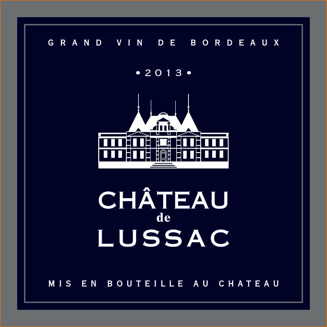 Château de Lussac 2013
